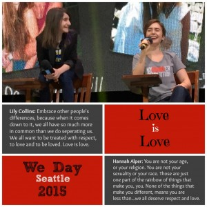 We Day Seattle and ByStander Revolution #standkind